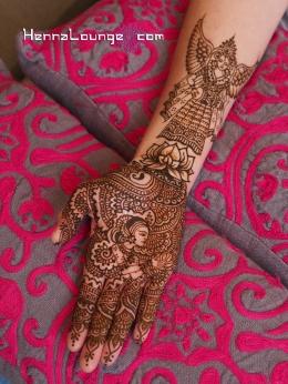 Harin Dalal inspired henna