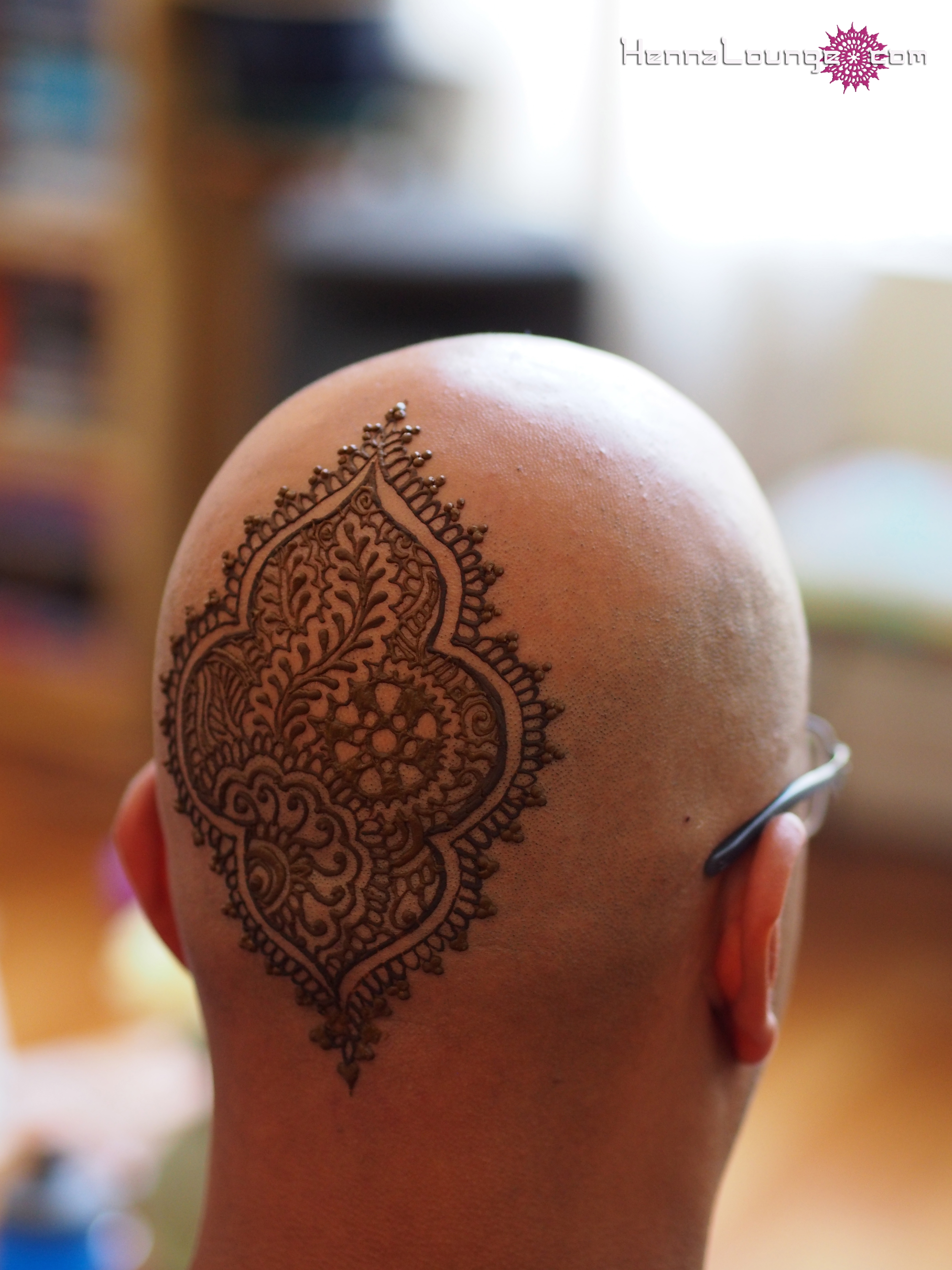 Mehndi For Head : Henna crowns lounge