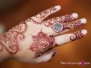 Experimental henna pattern using Rajasthani henna