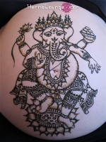 A detailed Ganesh for an expecting mama