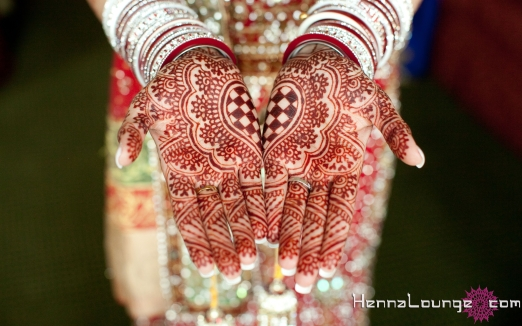 Bangles and Kaleerah with henna
