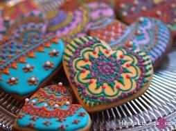 henna cookie love