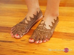 A traditional Moroccan slipper for a bride