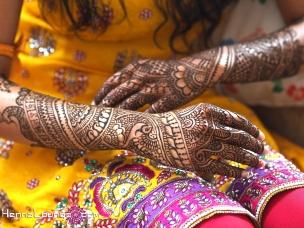 Haldi ceremony and mehndi