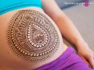 Tribal Belly Pattern