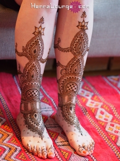 City Hall wedding henna