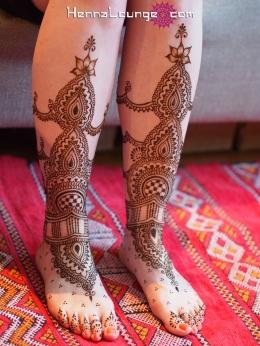 City Hall wedding henna