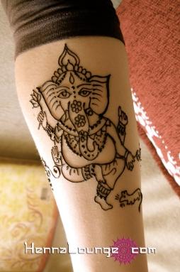 A cute Ganesha pattern