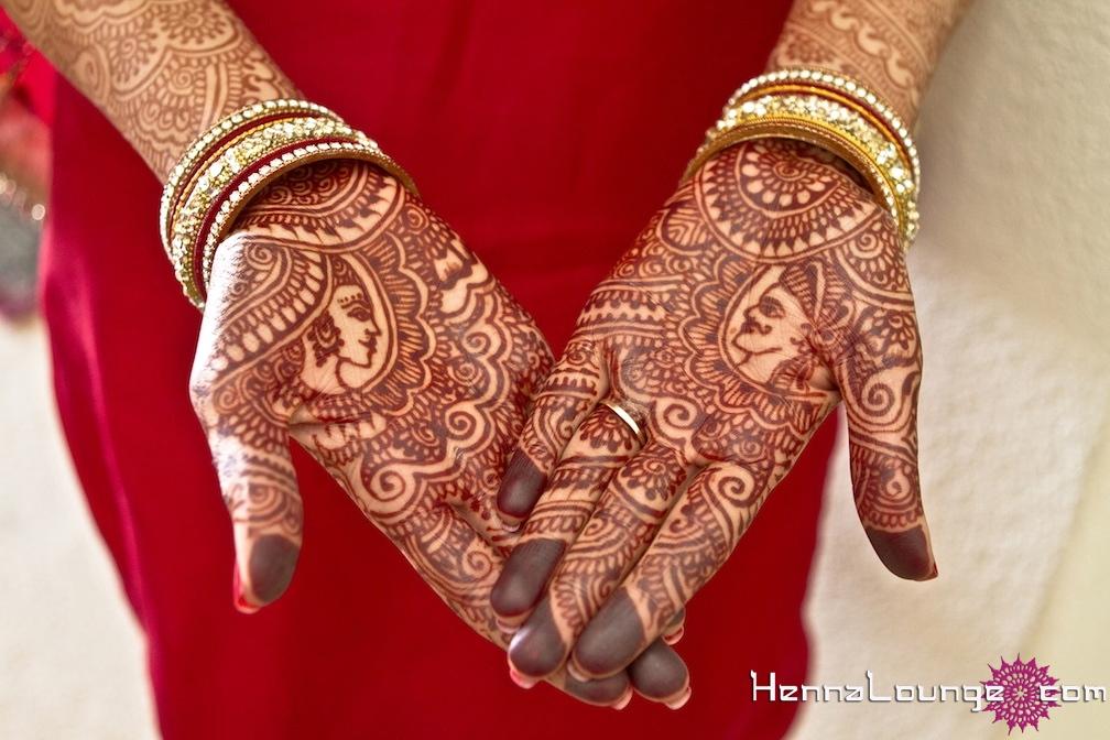 Raja Rani Bridal Mehndi Designs : Dulha dulhan mehndi henna lounge