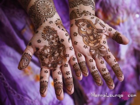 Radha Krishna pattern