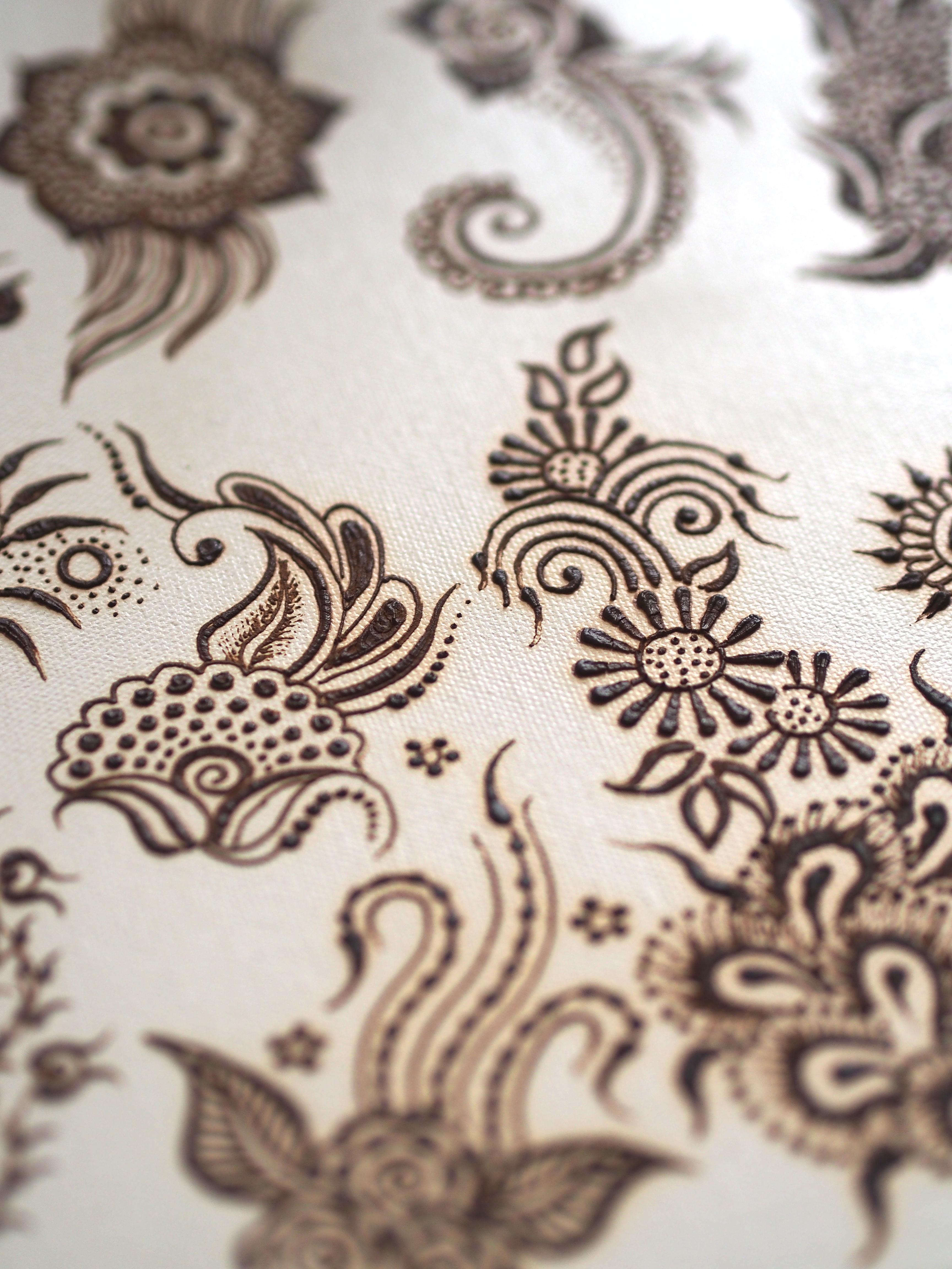 Motifs in Persian Gulf henna
